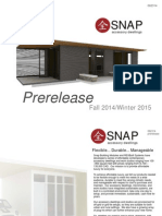 SNAP Microhomes and ADU Fall Brochure