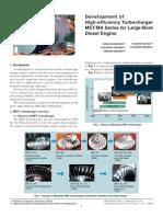 Development High-efficiency Turbocharger Met-ma