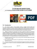 Ipaf Guidance for Major Inspections of Mewps May 2014