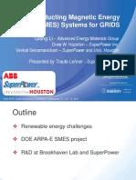 12 - Superconducting Magnetic Energy Storage System for GRIDS (Lehner for Li)