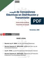 SOX 091124 Mapa de Concesiones Eléctricas en Distribución y Transmisión