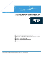Scan Router Doc Server