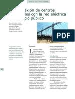Interconexion Con Centros Industriales Con La Red Publica