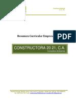 Resumen Curricular C2021