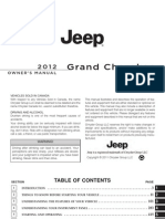 2012 Grand Cherokee OM 3rd