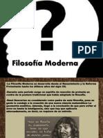 Filosofía Moderna