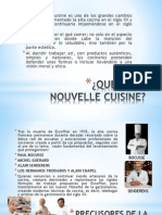 Nouvelle Cuisine Generalidades