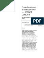 Criando Colunas Dinamicamente No ASP.net DataGrid