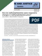 Meth Price Change Use Patterns
