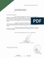 ACIJ Reitera Pedido de Publicidad Del Proceso de Remoción a Campagnoli