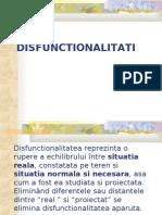 8 disfunctionalitati