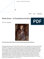 A Consciência de Zeno _ Gaveta Do Ivo