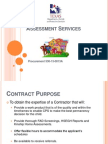 assessment services 2014 ppt
