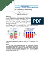 Fundamentals of Coatings - Werner Blank