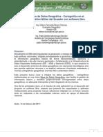 Base de Datos Geografica en El IGM Con Software Libre