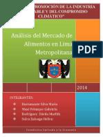 Análisis Del Mercado de Alimentos en Lima Metropolitana