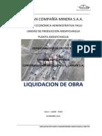 Liquidación de Obra Pand-2