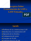 Conmutación de LAN y VLAN
