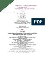 Anales de Historia Antigua y Medieval, Vol. 28, 1995. en Homenaje Al Prof. José Luis Romero
