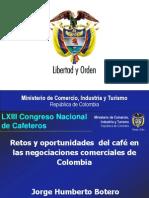 Retos y Oportunidades Del Café