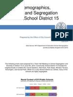 D15 School Segregation Charts
