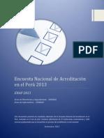 Informe de EAP 2013