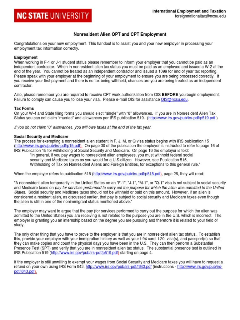 Info sheet nra on opt cpt united states government government info sheet nra on opt cpt united states government government of the united states falaconquin
