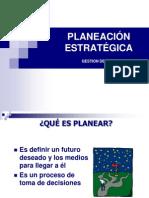 Planeación Estrategica Gestion de Salud