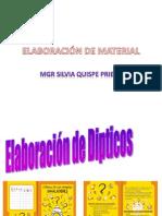 Elaboración de Algunos Materiales (1)
