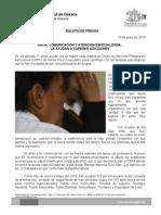 18/06/14 AMOR, COMUNICACIÓN Y ATENCIÓN ESPECIALIZADA, LA AYUDAN A SUPERAR ADICCIONES