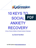10 Keys to Social Anxiety Recovery Dg