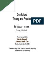 Oscillators TheoryAndPractice EMesser 2009 10