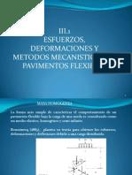III.1 Esfuerzos y Deformaciones en Pavimentos Flexibles