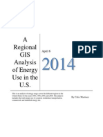 A Regional GIS Analysis of Energy Use in the U.S.