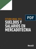 WP Sueldos y Salarios Mercadotecnia 2014