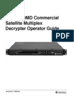 Motorola DSR 4410MD Operator Guide