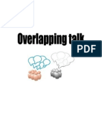Overlapping Talk