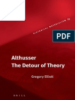Althusser [the Detour of Theory]