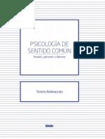 Tomás Balmaceda - Psicología de sentido común