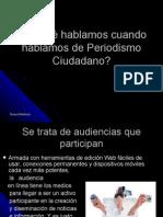 Periodismo participativo, 3.0 o colaborativo...
