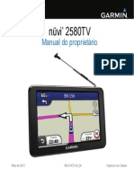 Manual Do Proprietario Nuvi 2580TV OM PT BR