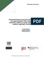 Descentralizacion Serv Esenciales ILPES GIZ