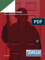ACLU Police Militarization Report