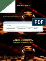 Diapositivas Plan de Clase