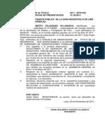 Absssuelve Observaciones Registrales - Jorge Velasquez Villanueva