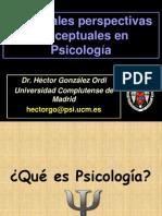 Perspectivas Conceptuales Generales en Psicolog A