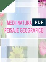 Medii Naturale_peisaje Geografice