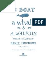 A Boat, a Whale & a Walrus Sneak Peek