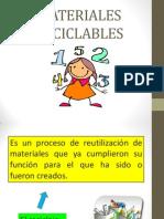 MATERIALES RECICLABLES