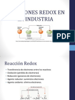 Reacciones Redox en La Industria